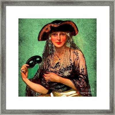 Framed Print featuring the digital art Pirate Jenny by Sasha Keen