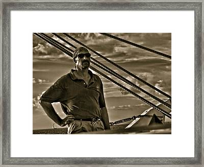 Pirate Of The Keys Framed Print by Perry Frantzman
