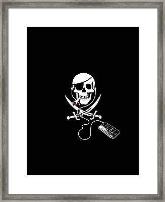 Pirate Party, Artwork Framed Print by Science Photo Library