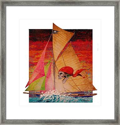 Pirate Passage Framed Print