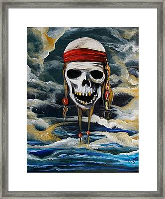 Pirate Past Framed Print