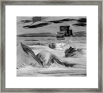 Pirate Ship  Framed Print by Jazzboy