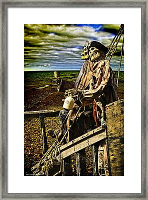 Pirates A Ground Mate  Framed Print