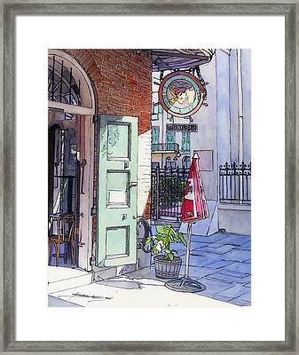 Pirates Alley 161 Framed Print by John Boles