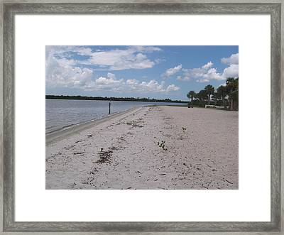 Pirate's Beach Framed Print by Frederick Holiday