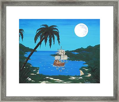 Pirate's Cove Framed Print by Don Miller