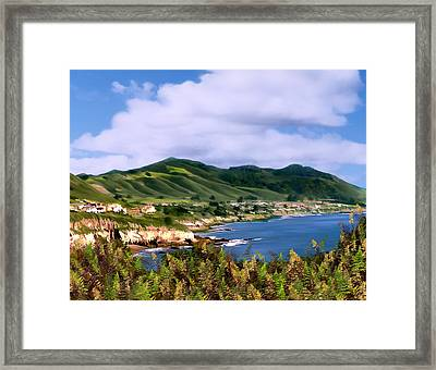 Pirates Cove Framed Print