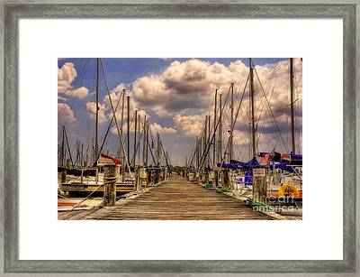 Pirate's Cove Framed Print by Lois Bryan