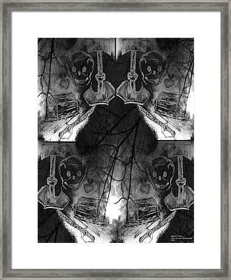 Pirate's Keepsake Framed Print