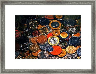 Pirates Plunder Framed Print by Benjamin Yeager