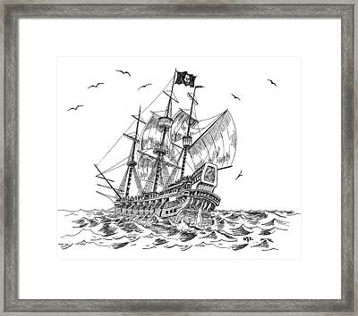 Pirates Framed Print