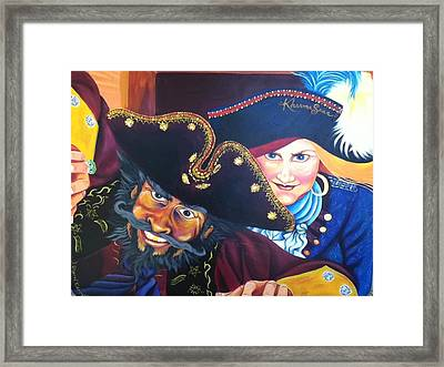 Pirates Framed Print by Sherri Carroll