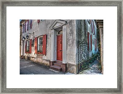 Pirates House Charleston Sc Framed Print by Dale Powell