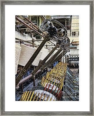 Pirn Winding Machine Framed Print by Gillian Singleton