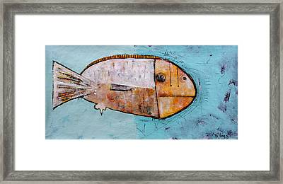 Piscis 1 Framed Print by Mark M  Mellon