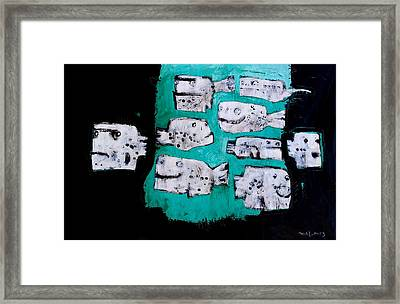 Piscis No 4 Framed Print by Mark M  Mellon