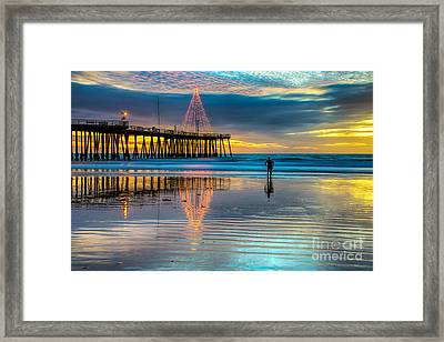 California Christmas Framed Print