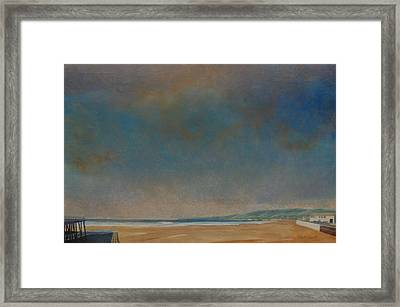 Pismo Beach Framed Print