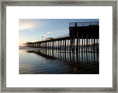 Pismo Beach Pier Framed Print