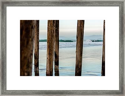 Pismo Beach Series Seven Framed Print
