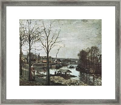 Pissarro, Camille 1830-1903. The Framed Print by Everett