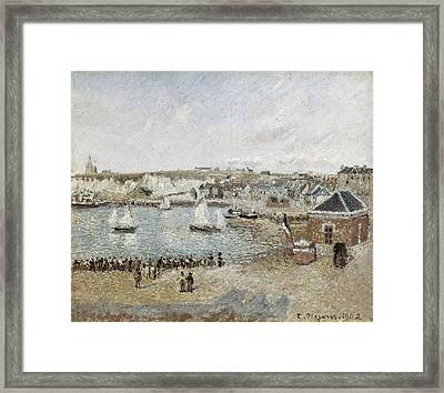 Pissarro, Camille 1830-1903. The Outer Framed Print by Everett