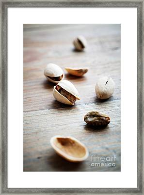 Pistachios Framed Print by Kati Molin
