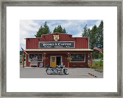 Java Stop Framed Print