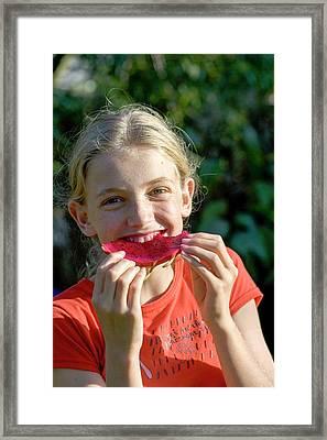 Pitaya Aka Dragon Fruit Framed Print