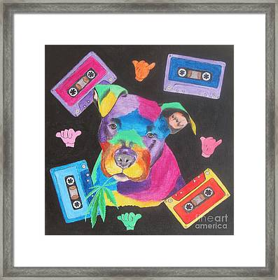 Pitbull Framed Print by Jeepee Aero
