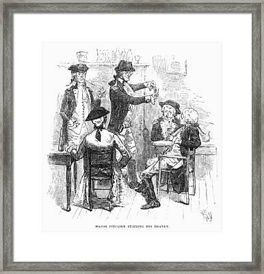 Pitcairn: Concord, 1775 Framed Print by Granger