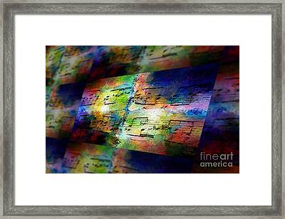 Pitch Space 2 Framed Print