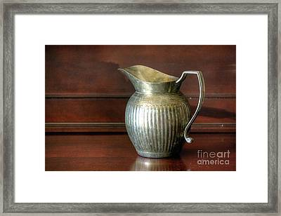 Pitcher Framed Print by Chris Anderson