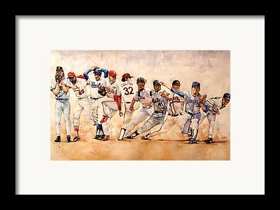 New York Yankees Framed Prints