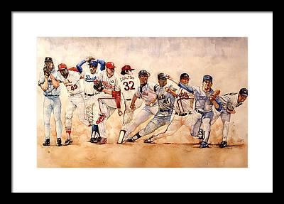Sport Framed Prints