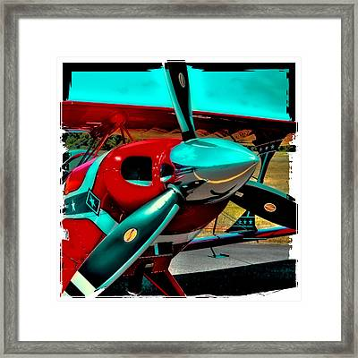 Pitts S2-b Biplane Framed Print