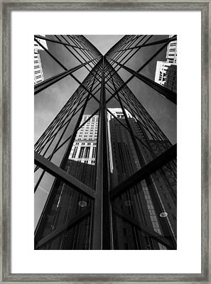 Pittsburgh  Abstract  Framed Print