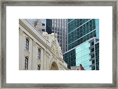 Pittsburgh Architecture Framed Print by Rivernorthphotography