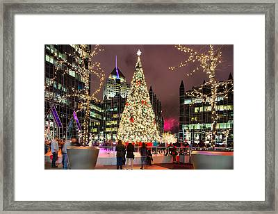 Pittsburgh Holiday Season 2 Framed Print by Emmanuel Panagiotakis
