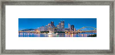 Pittsburgh New 2  Framed Print by Emmanuel Panagiotakis