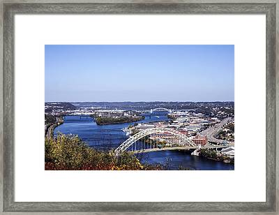 Pittsburgh North Framed Print by Michelle Joseph-Long