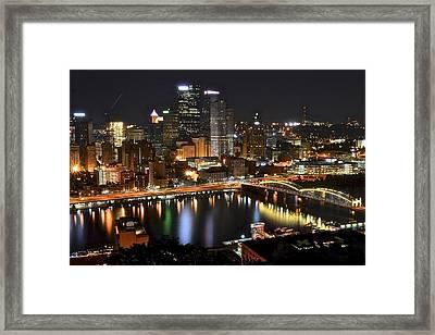Pittsburgh Pa Framed Print