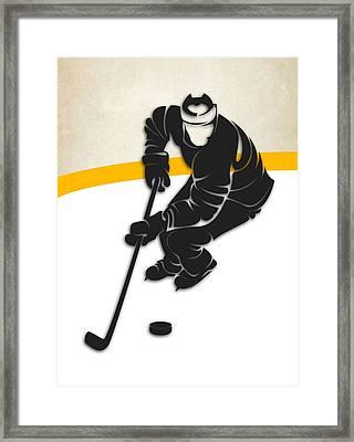 Pittsburgh Penguins Rink Framed Print