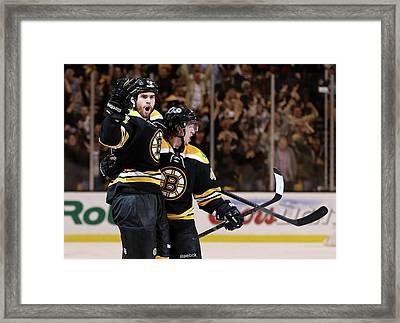 Pittsburgh Penguins V Boston Bruins - Framed Print