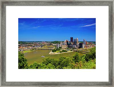 Pittsburgh, Pennsylvania Framed Print