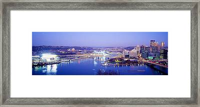 Pittsburgh, Pennsylvania, Usa Framed Print