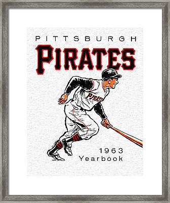 Pittsburgh Pirates 1963 Yearbook Framed Print