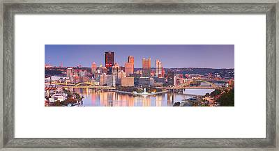 Pittsburgh Reflections  Framed Print