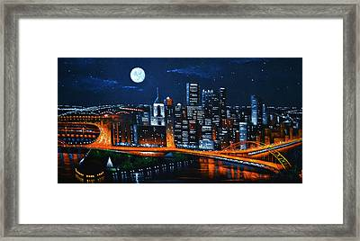 Pittsburgh  Sold Framed Print