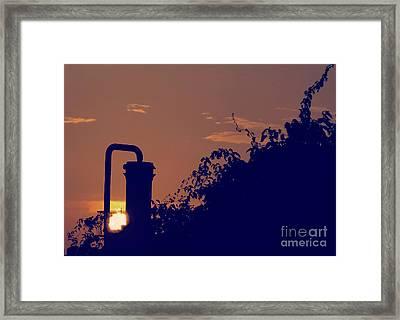 Pittsburgh Sunset  Framed Print